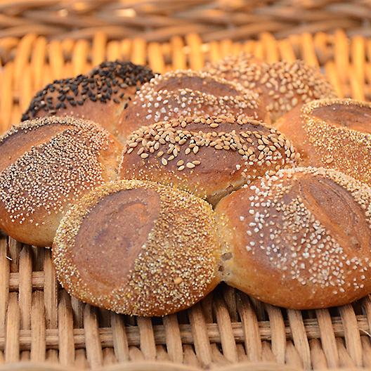 ライ・ブロートのちぎりパン